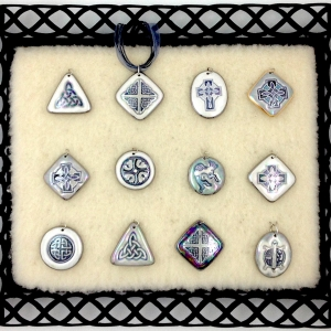 Black & White ~ Image Pendants
