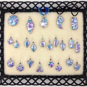 Shades of Blue ~ Pendants & Earrings
