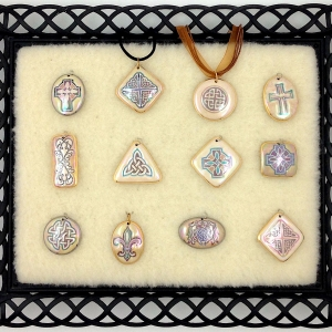 Shades of Brown ~ Image Pendants