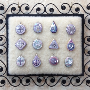 Purple ~ Image Pendants